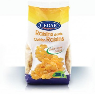Cedar Golden Raisin