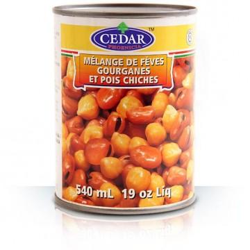 Fava Beans + Chick Peas Mix