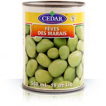 Cedar Green Broad Beans