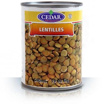 Green Lentils 540 ML