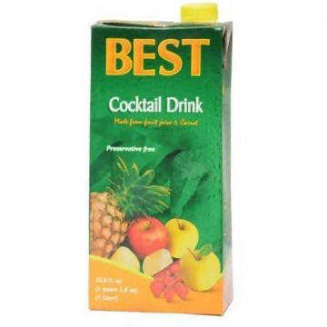 Best Fruit Cocktail Nectar 1L