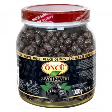 Natural Black Olives /Doğal...