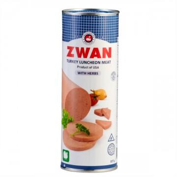 Zwan Turkey Luncheon Meat 837g