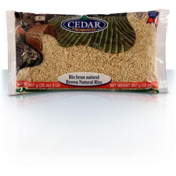 Brown Natural Rice 907g