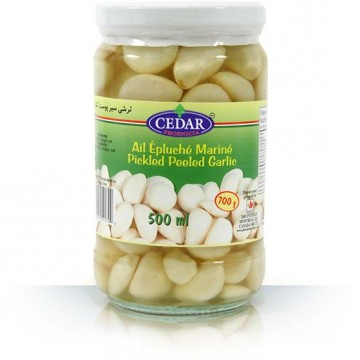 Iran White Peeled Garlic