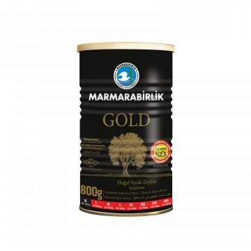 Gold Natural Black Olives...
