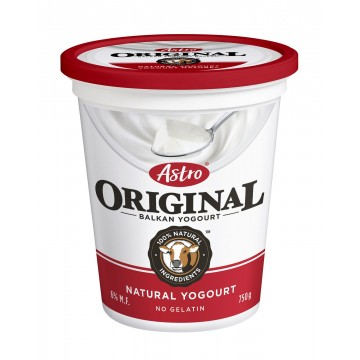 Astro Natural Plain Yogurt