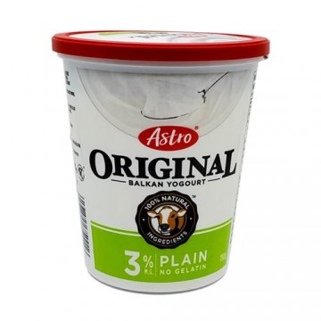 Astro 3% Natural Yogurt