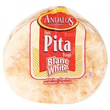 Andalos White Pita Bread 400g