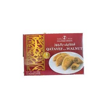 Qatayef Walnut 6 pcs
