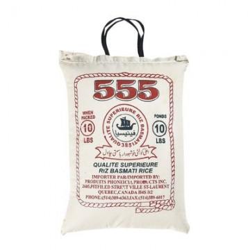 555 Basmati Rice 10lb