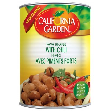 Fava Beans with Chilli  454 g