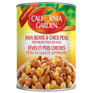 Fava Beans and Chick peas...
