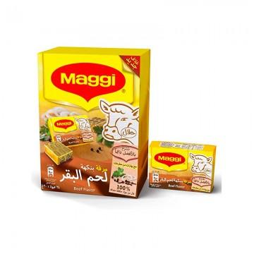 Maggi Beef Cube 24x21g Box