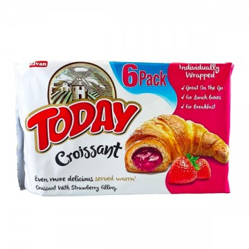Croissant Strawberry 6X45g...