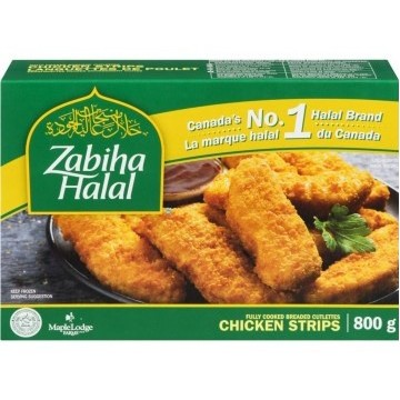 Zabiha Halal Chicken Strips...