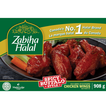 Zabiha Halal Spicy Buffalo...