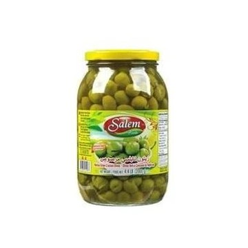 Naboulsi Green Cracked Olives