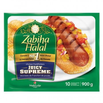 Zabiha Halal Juicy Supreme...