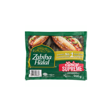 Zabiha Halal Spicy Supreme...